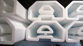 Styrofoam letters and Logos white